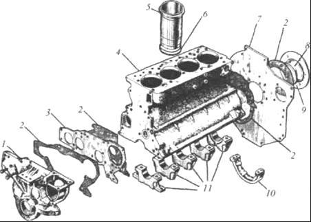 Гильзы дизеля Д-245
